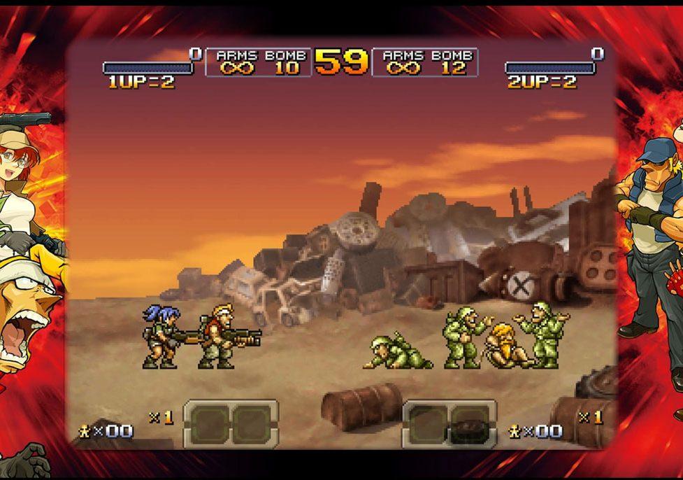 metal slug game online 2 player
