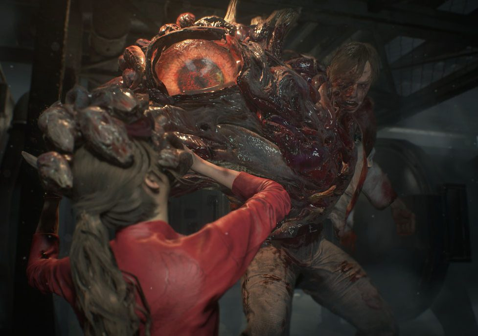 Resident Evil 2 Tyrant Trailer Drops Punch Jump