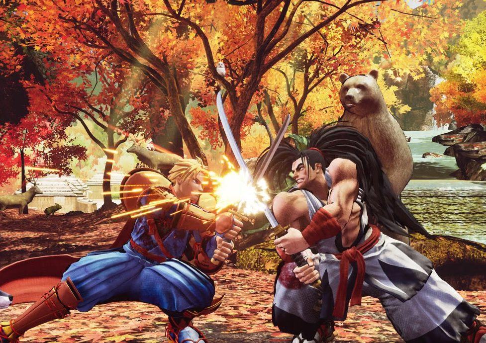 Samurai Shodown PS4 PSN Season 1 DLC Pack free to download