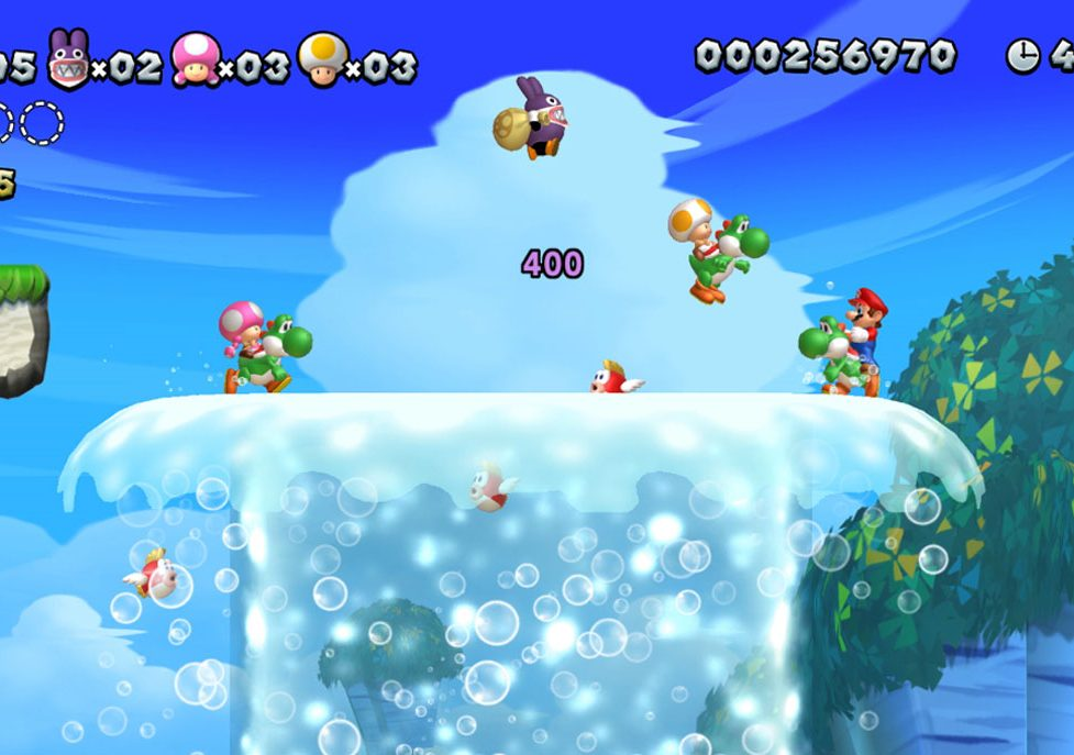 New Super Mario U Deluxe Nintendo Switch nabs No  4 pre