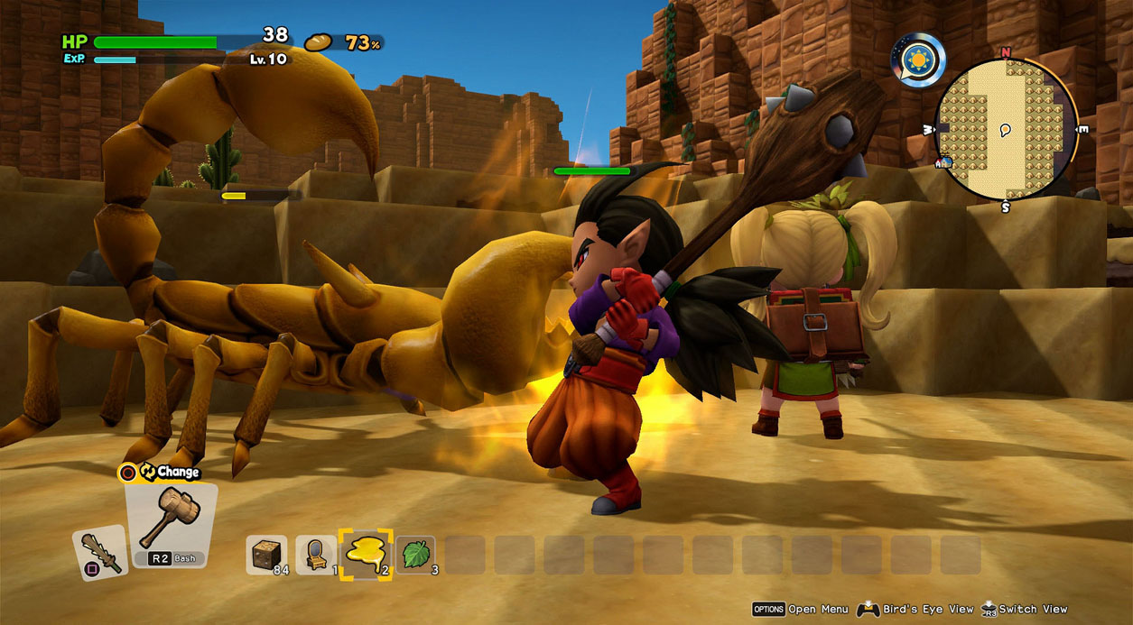 Image Result For Dragon Quest Builder Ps Multiplayer