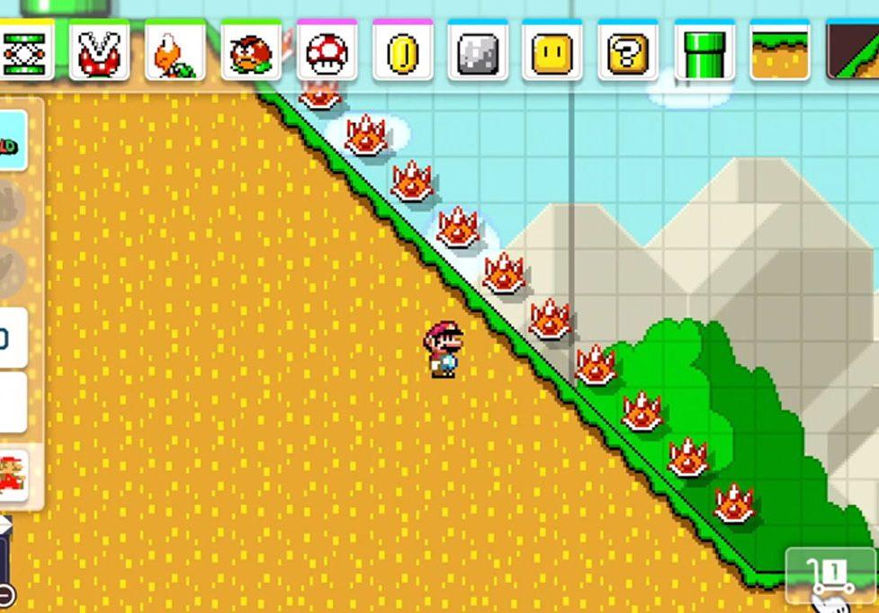 Super Mario Maker 2 No  1 in download sales – PUNCH JUMP